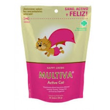 Multivitamínico Multiva Active Cat